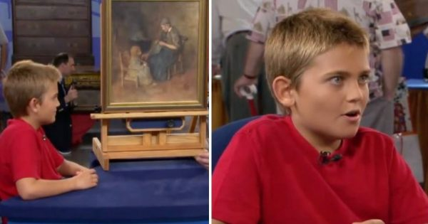 Boy buys painting for only $2 – Two months later, he gets the shock of a lifetime when its value is revealed
