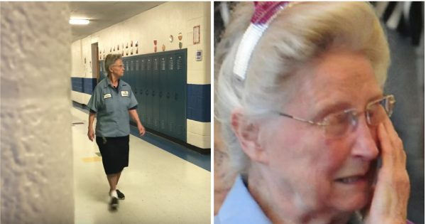 77-Year-Old Janitor Has A Longtime Secret, Staff Discovers Truth And Confronts Her In Front Of Entire School