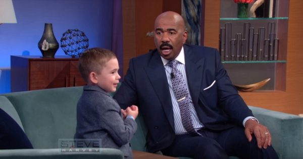4-year-old boy has amazing skills, but it's his sense of humor that has Steve Harvey in stitches