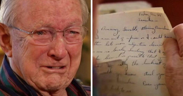 WWII veteran wrote a love letter to his future wife. 70 years later, he finds it again in an unlikely place