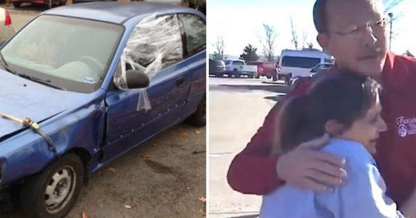 Waitress's car is so beat up people think it's abandoned – Then customer gives her tip that changes everything