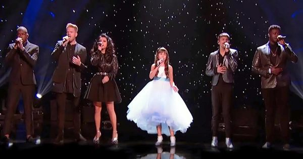 Pentatonix joins autistic girl on stage. Their chilling rendition of 'Hallelujah' brings everyone to tears