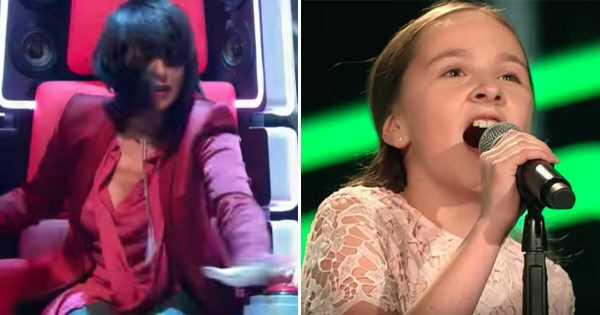 Judge instantly presses button after 3 seconds – watch how young girl puts everyone to silence