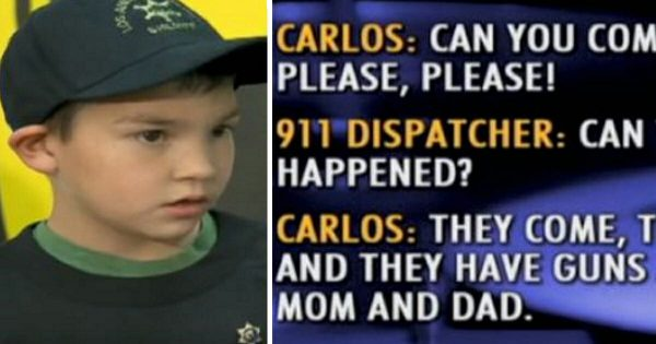 911 operator gets call from frantic boy hiding with little sister in bathroom – but it's his actions that stun everyone