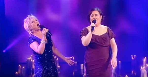 Elaine Page joins Susan Boyle on stage – The result is like nothing you've ever heard