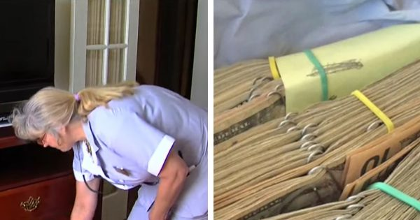 Hotel housekeeper cleans elderly couple's room – but once she opens the bottom drawer, she screams