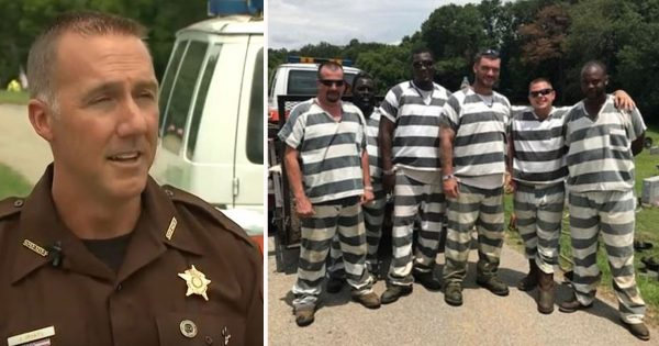 Prison inmates see guard officer collapse. They grab his gun belt and phone and had to choose