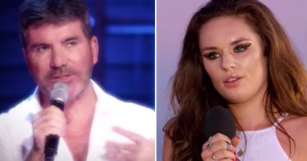 Simon Cowell has singer remove excessive makeup—but when she returns, everyone's floored