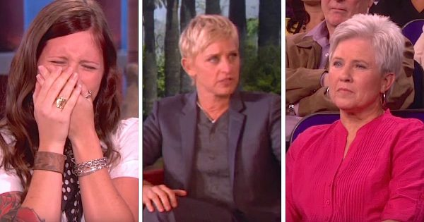 Deaf mom can hear for the first time – now watch her reaction when Ellen reveals another big surprise