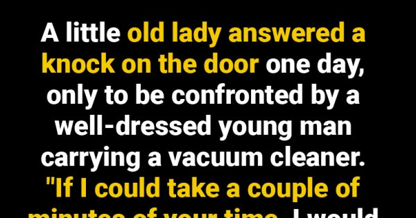Pushy Salesman Wouldn't Take No For An Answer. This Old Lady's Response Was Priceless.