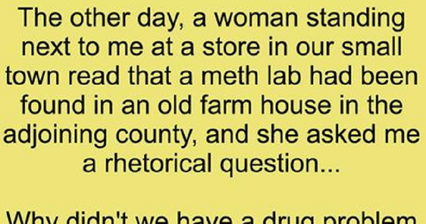 Old man is told his life was easy as there was no drug problem when he grew up. His reply is the best thing ever.