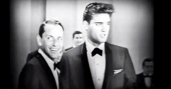 62 years ago, Sinatra & Presley teamed up for an unearthed TV duet that still sends chills down everyone's spine