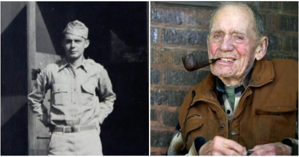 98-year-old man kept secret for 70 years – His neighbors are stunned when they see his donation