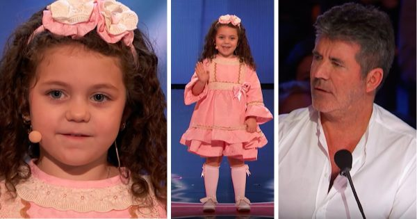 5-yr-old girl dazzles everyone when she walks onstage – now watch Simon's eyes when she takes on Sinatra classic