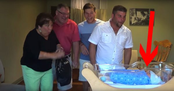 Mom just gave birth – but her family has no idea what's waiting for them in the crib