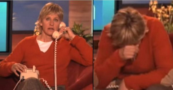 Ellen calls her biggest fan live on air – loses it when the 88-year-old makes hilarious confession