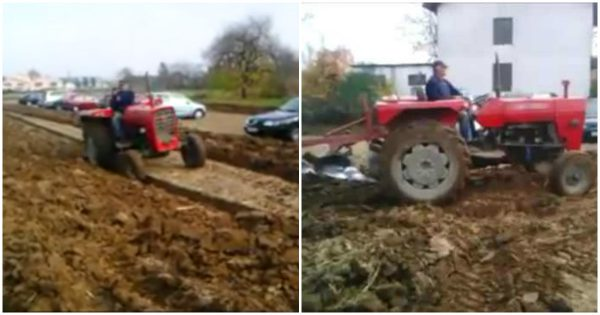 Farmer gets fed up with drivers parking on his land – His genius revenge is making everyone laugh