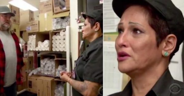 Single mom with cancer tells her tearful story to new coworker – then he takes off his wig and everything changes