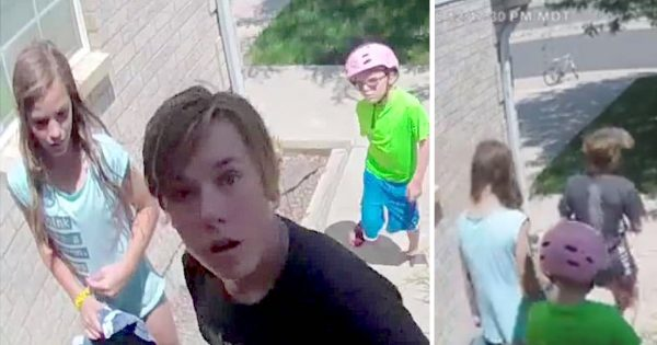 3 kids find wallet with $700 inside – what security camera captured next quickly went viral