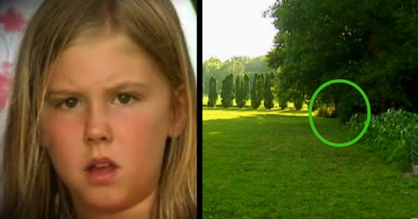 9-yr-old hears god telling her to look in the bushes. When she gets closer, she can't believe her eyes