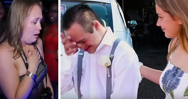 Boy with Down Syndrome gets rejeced to school prom, only to have date show up making mom lose it