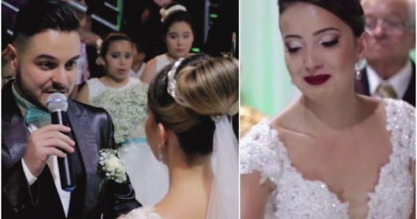 Groom stops wedding and admits he loves someone else — points to a guest and makes his bride cry