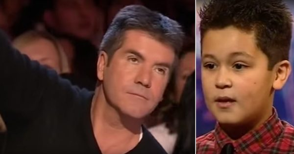 Simon cuts off 12-yr-old boy mid-performance and humiliates him. But with his second try, everyone loses it