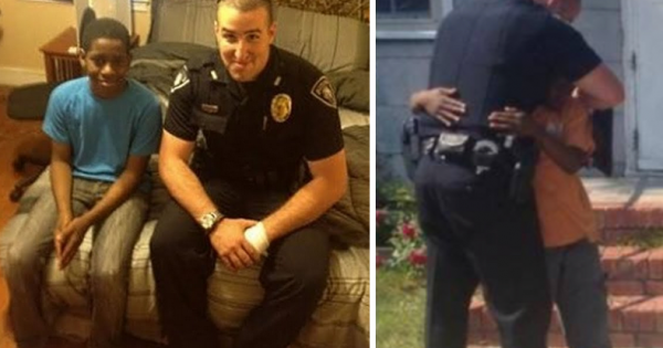 13-yr-old wants to run away from home – officer discovers the reason when he looks inside his room