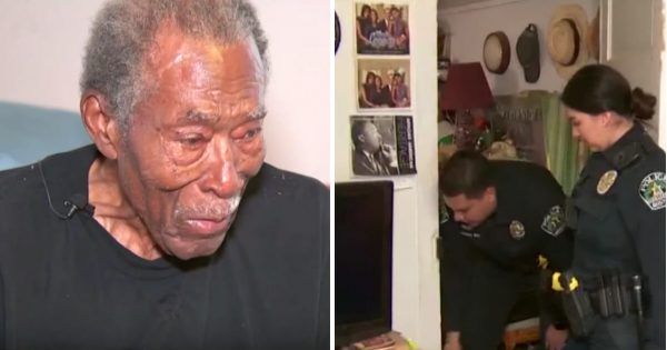 92-yr-old war veteran calls police after robbery – then cops walk into his house & make bone-chilling discovery they can't ignore