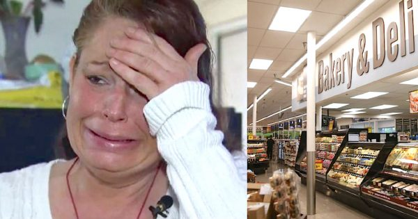 Cop catches mom stealing groceries – but when he sees her 3 starving kids, he knows he has to do something