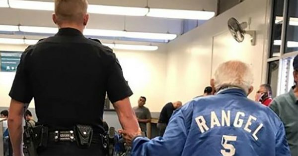 Bank reports police on 92-year-old man—cop's next move is caught on camera and goes quickly viral