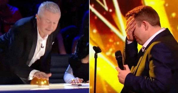 Man steps onto stage, performs sultry rendition of Elvis classic so captivating judge is forced to slam buzzer