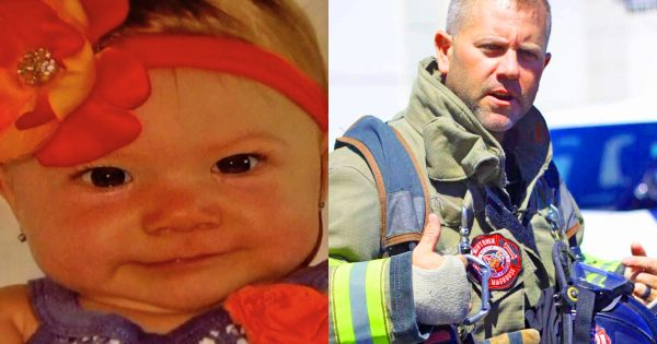 Fireman was forced to deliver baby girl during emergency call – then the unexpected happens