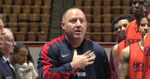 Coach is furious when players disrespect the National Anthem: Now watch the veterans on the left