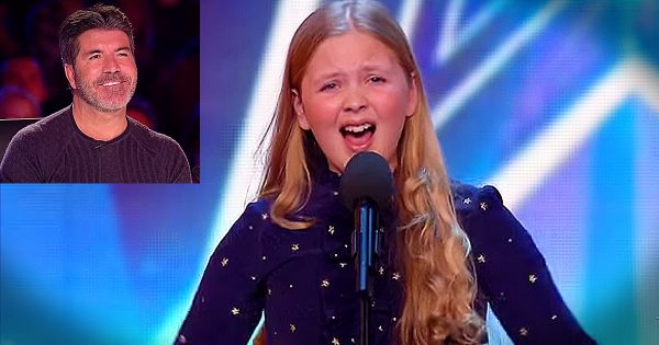 Shy 12-year-old girl walks on stage, but within seconds everyone's jaw hit the floor with haunting rendition