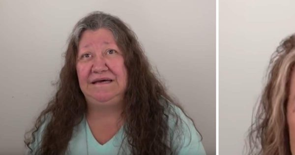 Depressed grandmother is tired of her ruffled hair – hours later she barely recognizes herself