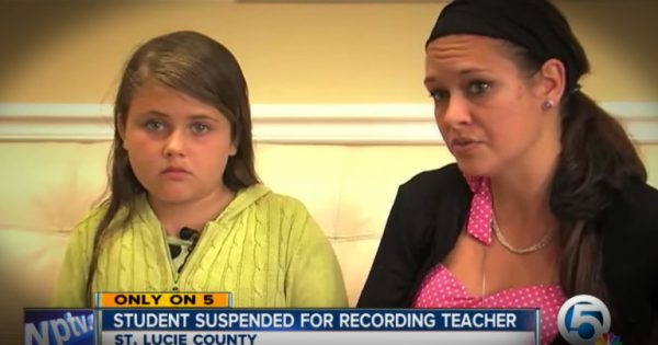 11-year-old uses phone to secretly record teacher's horrible bullying, gets suspended for 5 days