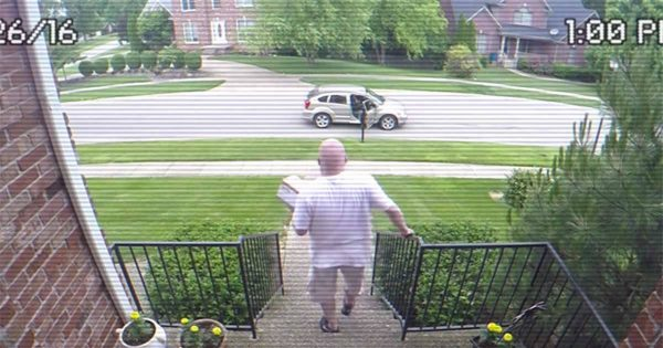 Thief keeps stealing neighbours' packages – then hidden camera reveals genius revenge