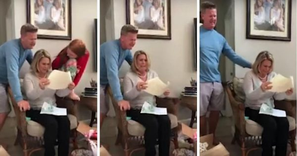 Son receives his first paycheck – then chooses to pay off his parents' mortgage