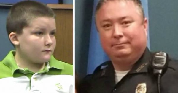 Cop called to house where 8-year-old boy is being abused – opens the door and his blood freezes