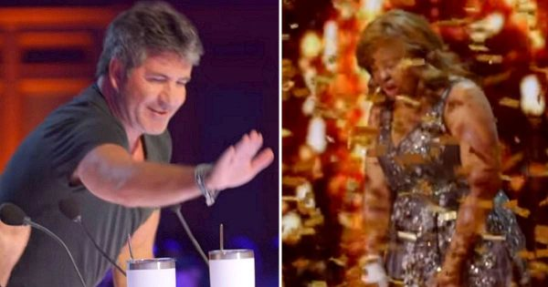Plane crash survivor delivers emotional performance – breaks down after getting Golden Buzzer from Simon Cowell