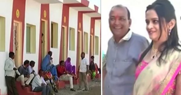 Businessman spends $ 11 million he saved for daughter's marriage on building 90 houses for homeless