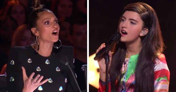 Barefoot 13-year-old girl wows 'America's Got Talent' judges with classic Queen song, wins Golden Buzzer