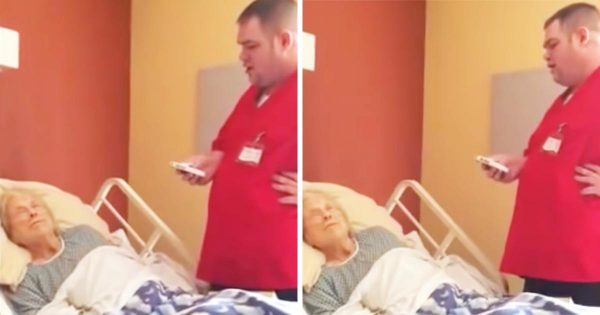 Nurse grants dying patient's last wish, has no idea he's being recorded
