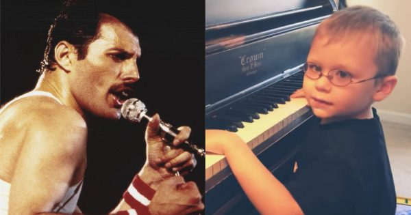 6-year-old blind piano prodigy stuns with Queen's 'Bohemian Rhapsody'