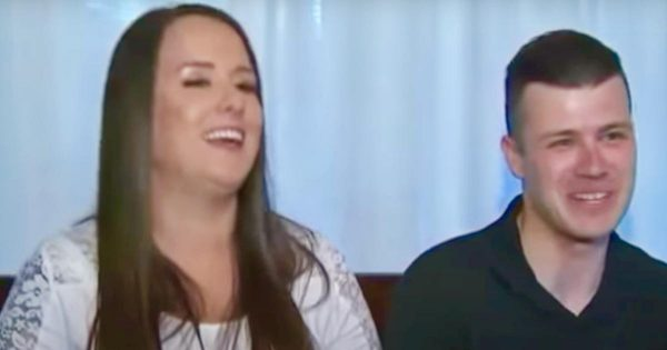 Navy wife hides pregnancy for 8 months to surprise deployed husband at his homecoming
