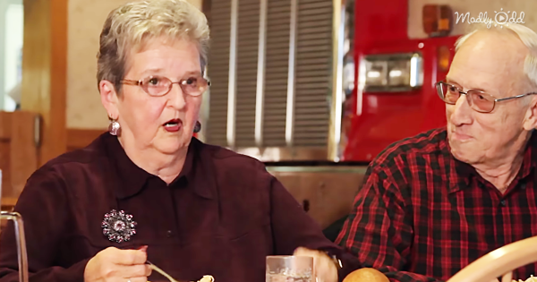 Elderly couple is asked to shoot commercial for their favorite restaurant. The end result is hilarious