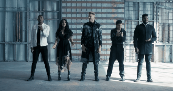"Pentatonix performs a chill-worthy rendition of ""Sound Of Silence"""
