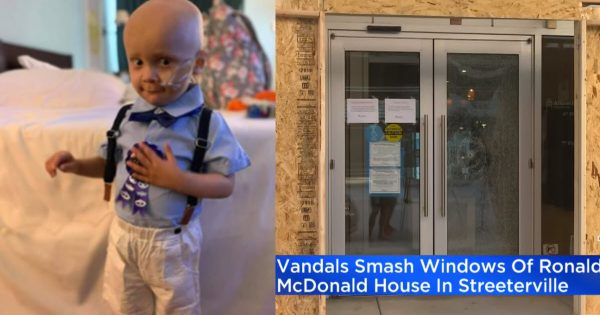 2-Year-Old Little Boy Battling Stage-4 Cancer Missed His Birthday Party Due To Looting In Chicago