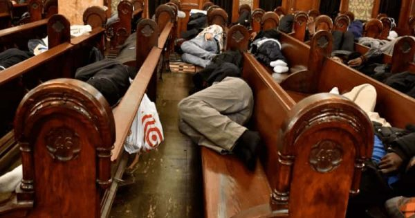 Churches Are Opening Their Doors To The Homeless